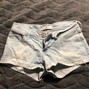 Girls/juniors jean shorts